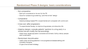 phase ii designs in oncology ppt
