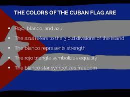 Cuban Flag Cuba Presentation By Valerie Roberts