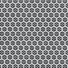 japanese pattern black and white rkaw10558 classic mon crest pattern black washi hanko designs