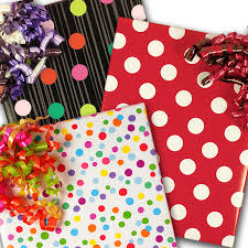 wrapping papers polka dot wrapping paper