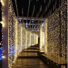 amazon com neretva led light window curtain icicle lights 304led