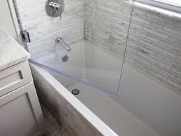 frameless glass doors for showers bathtubs impressive bathtub screen door 118 frameless glass