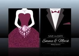 Groom To Bride Wedding Card Wedding Card With Groom And Bride Free Vector Download 13 030