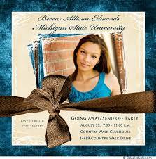photo trunk invitation send college freshman