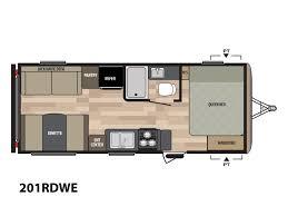 Springdale Rv Floor Plans 2018 Keystone Rv Springdale Eco Lite 201rdwe Stock 101742