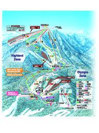 Montana Ski Resorts Map by Teine Highland Ski Resort Guide Location Map U0026 Teine Highland Ski