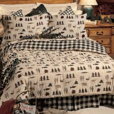 Northern Lights Comforters Northern Exposure Cabin Bedding Collection