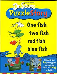 dr seuss puzzle story one fish two fish fish