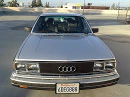 1980 audi 5000 for sale daily turismo 1k sudden depreciation 1983 audi 5000s