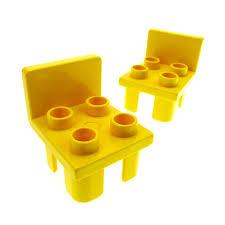 stühle küche 2 x lego duplo stuhl gelb 4 noppen sitz stühle küche wohnzimmer