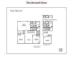 ryan homes the milan second floor ryan homes milan model