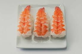 cuisine crevette recette sushi nigiri sans algue aux crevettes recettes
