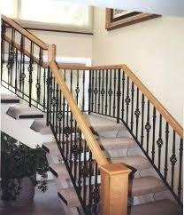 Interior Handrail Height Saveemail Stair Railing Parts Staircase Railing Code Stair Railing