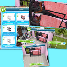 Cartoon Bunk Beds by The Sims Freeplay Teen Life Event The Girl Who Games