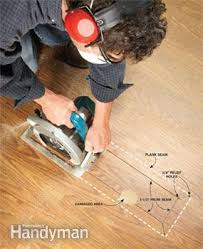 laminate floor repair family handyman