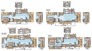 Small Rv Floor Plans Class A Rv Floor Plans U2013 Gurus Floor