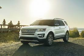 Ford Explorer Towing Capacity - 2017 ford explorer platinum is powerful pricey suv