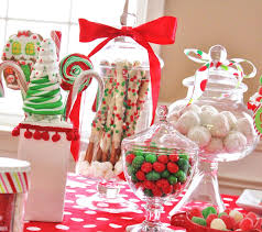 christmas dessert buffet christmas candy buffet time for the holidays