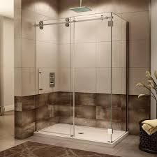 Fleurco Shower Door Fleurco Kinetik Two Sided Kt Shower Door Closes Against Wall