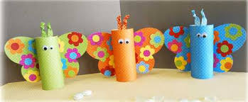 21 recycling paper crafts and fabric butterflies for decoration