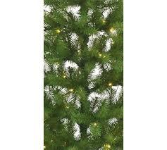 buy home 6ft pre lit half tree green at argos co uk
