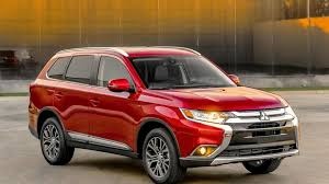 mitsubishi suv 2015 2016 mitsubishi outlander facelift revealed video