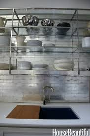 tiles grey mosaic kitchen wall tiles gold metal kitchen wall