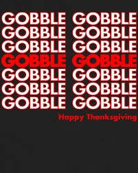 gobble gobble retro happy thanksgiving tank top teeshirtpalace