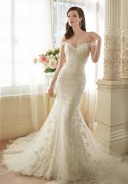 trumpet wedding dresses the shoulder tulle allover lace trumpet wedding