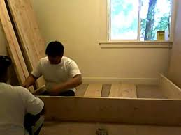 Building Platform Bed Building Platform Bed Frame Part 1 Of 10 Youtube