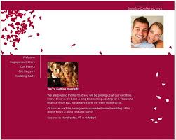 free wedding website free wedding website on onewed