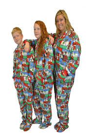 sweater one sleeper footed pajamas with rear