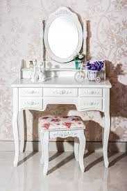Dressing Table Set Amazon Com Beautiful White Label Cleopatra Vintage Vanity Table
