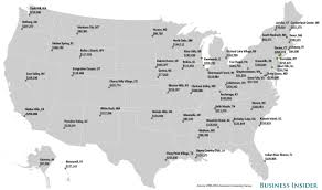 Map Of Alaska Towns by Affluent Towns Map Business Insider