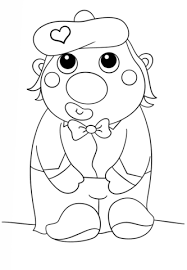shy clown coloring page free printable coloring pages