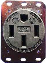 50 amp 60 amp straight blade plugs u0026 receptacles discount prices