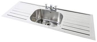 Kitchen Sinks Double Bowl And Drainer Victoriaentrelassombrascom - Kitchen sink double bowl double drainer