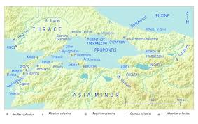 Map Of Ancient Greece The History Of Ancient Greece Podcast 015 Colonization And The East