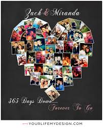 30 year anniversary gift ideas one year anniversary gift 365 days forever to go