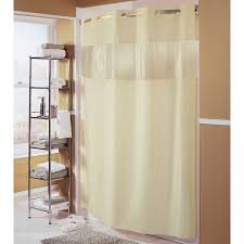 Weighted Shower Curtain Liner Hbh41bub05ws Beige The Major Shower Curtain With Matching Flat