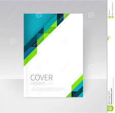 annual report word template brochure flyer poster annual report cover template stock