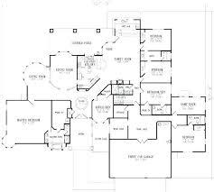 5 bedroom floor plans 1 story decoration 5 bedroom floor plans 1 story house single home 9