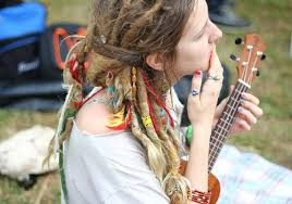 hippie hair wraps beautiful dreadlocks dreads guitar hair hippie image 97283