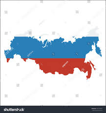 Geography Blog Russia Outline Maps by High Resolution Russia Map Country Flag Stock Vector 326149955