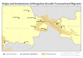Mongolia Map Networks Gender Culture And The Migration Decision Making