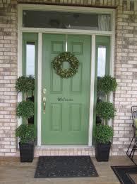 Best Paint For Exterior Door by Front Doors Good Coloring Green Front Door Color 19 Sage Green