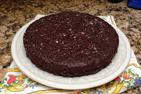 chocolate espresso pudding cake recipe on food52