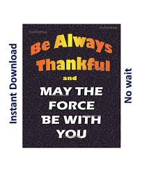 thanksgiving be thankful may the wars di owlartshop