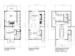 3 storey house plans level 3 storey contemporary house and 3 bedroom modern house
