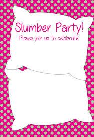 slumber invitation template best 25 slumber